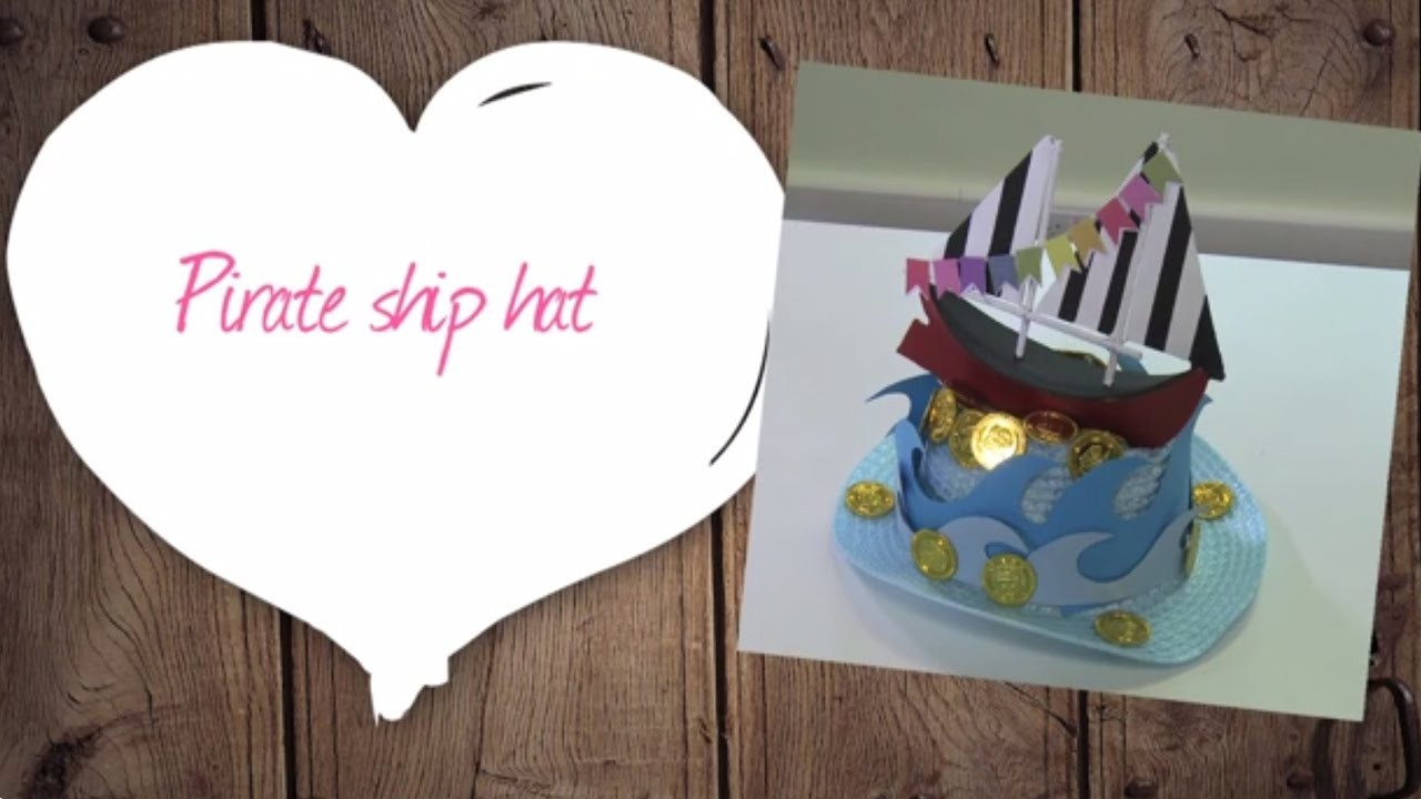 How to Make a Paper Pirate Hat | Hobbycraft