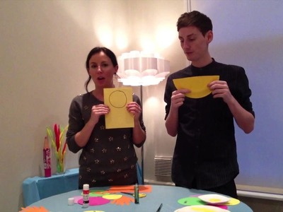 HOW TO MAKE.  A Paper Plate Duck