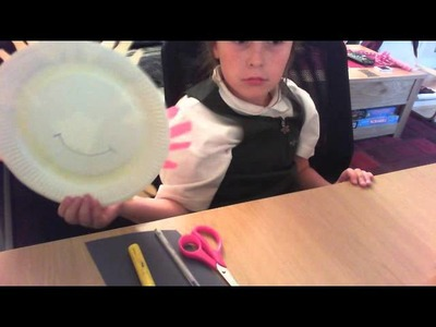 How to make a paper plate sun (by Anya Socko)