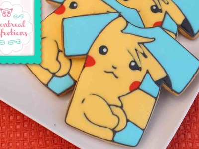 How to make a Pokemon cookies - Pikachu cookie