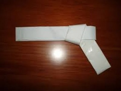 How To Make A Rubber Band Gun Out Of Paper! EASY