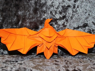How to make an origami Eagle statue (Henry Phạm)