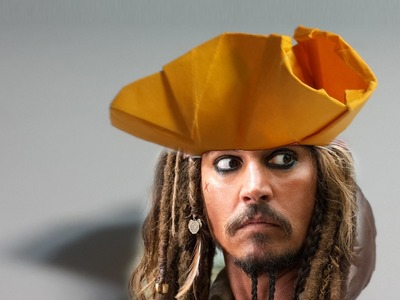 How to make an origami Pirate Hat (Henry Phạm)