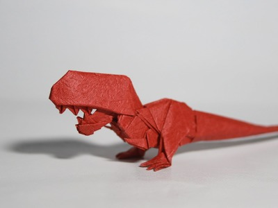 How to make an origami T-rex (Henry Phạm)