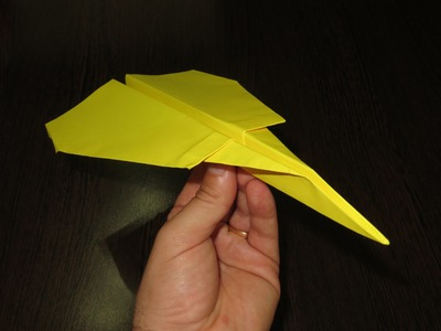 How to Make Cool Paper Airplanes that Fly Far and Straight - The Lion - Video 19