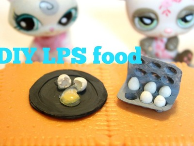 How to make LPS food | Egg cartons and cracked egg