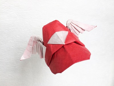 How to make origami hat: wing cap - mario style - by Paper Ph2