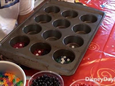 How to Make Pony Bead Suncatchers with DisneyDayByDay