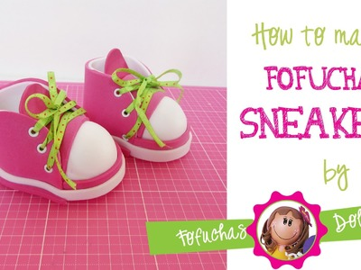 How to make sneakers for your fofucha doll