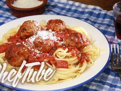 How to Make Spicy Meatballs With Spaghetti - Recipe in description