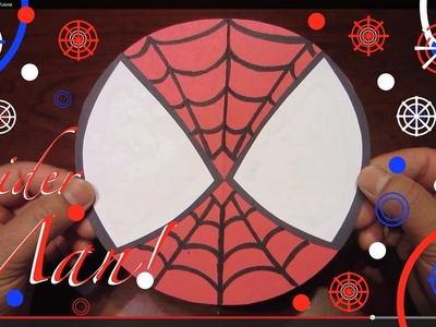 How to Make SpiderMan: Color Paper Tutorial - Lana3LW
