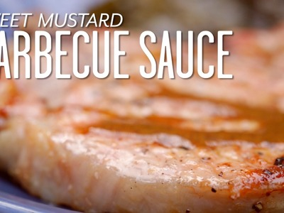 How To Make Sweet Mustard Barbecue Sauce | Cooking Tutorial