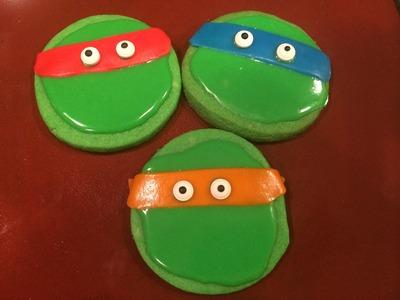 How to make Teenage Mutant Ninja Turtle Cookies