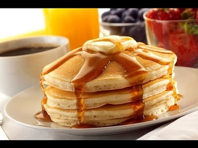How to make the Best Ever American Breakfast Pancakes