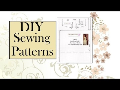 How to Make Your Own Sewing Patterns for Dolls: Bodice Patterns