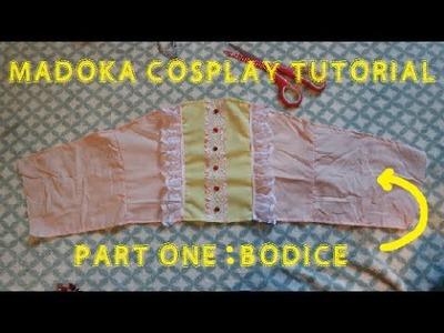 How to sew: Madoka Cosplay (Part 1.3 - Bodice)