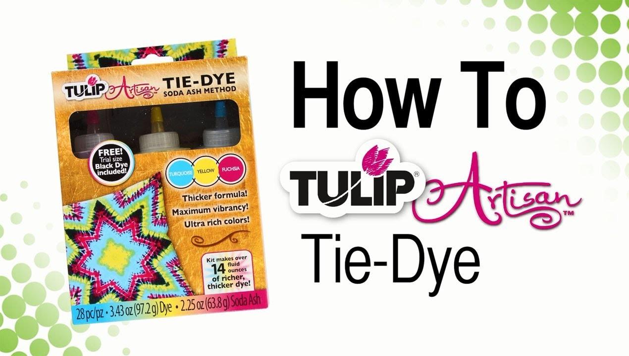 How To Tulip Artisan Tie-Dye