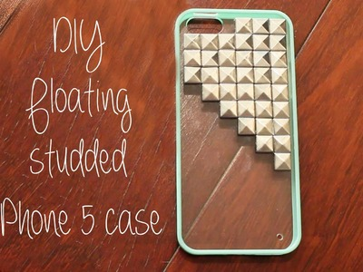 IPhone 5 DIY Floating Studded Case