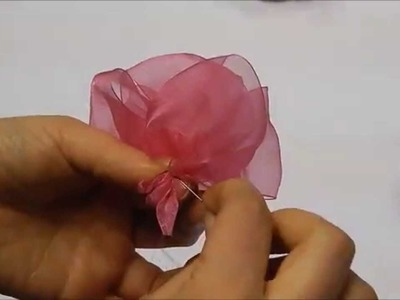Millinery Tip: How to Make an Organza Flower