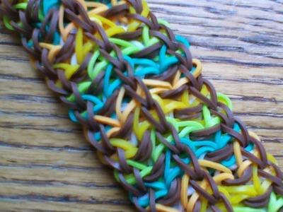 NEW Rainbow Loom Carthouse Bracelet