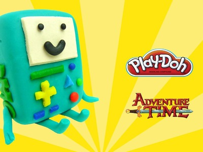 Play doh adventure time BMO - how to make with playdoh