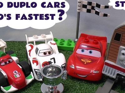 Play Doh Thomas & Friends Lego Duplo Disney Cars 2 Lightning McQueen Race Grand Prix Play-Doh