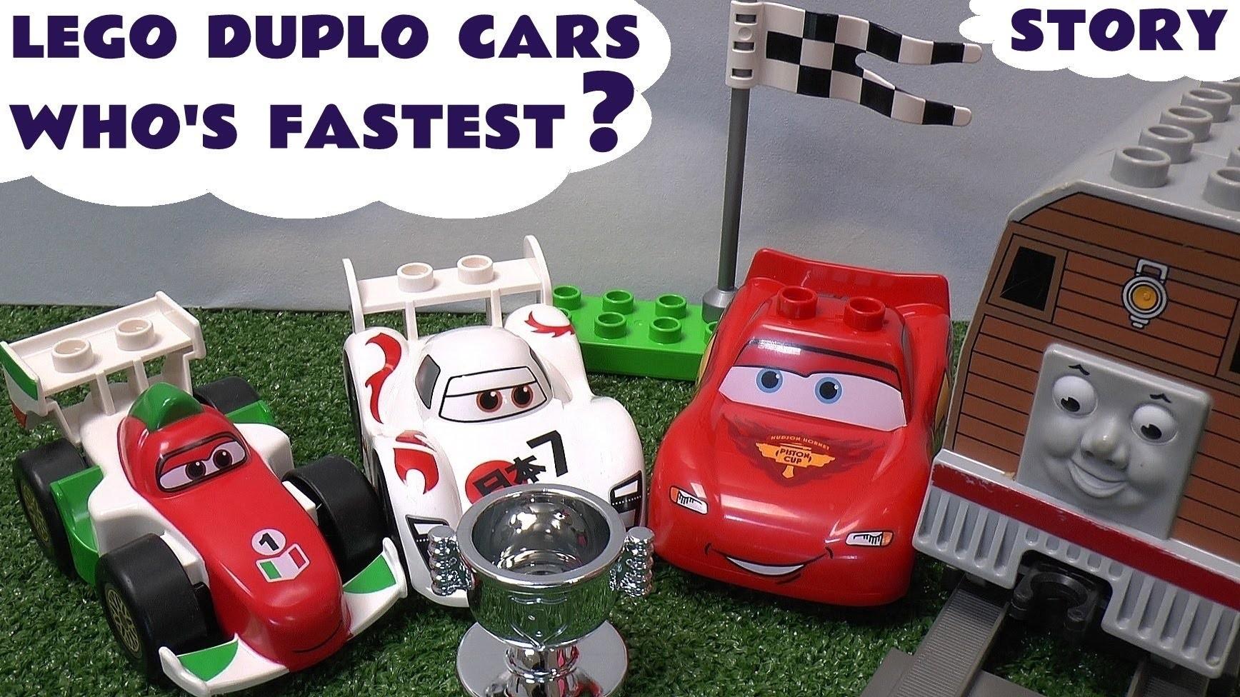 Play Doh Thomas Friends Lego Duplo Disney Cars 2 Lightning Mcqueen