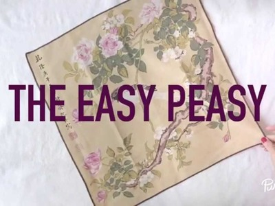 PureWow Presents: How to Fold a Napkin (The Easy Peasy)