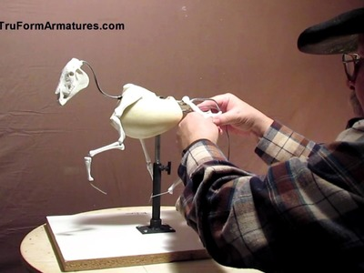 Sculpting Tutorial on How to Use Your TruForm Horse Armature
