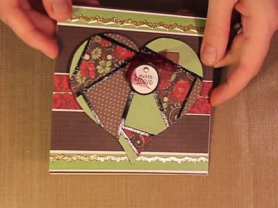 Studio SN: How to Make a Faux Mosaic with Patterned Paper
