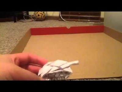 Tutorial How to make a Paper Tank Move