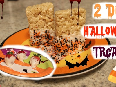 2 Halloween DIY Treats! ♡