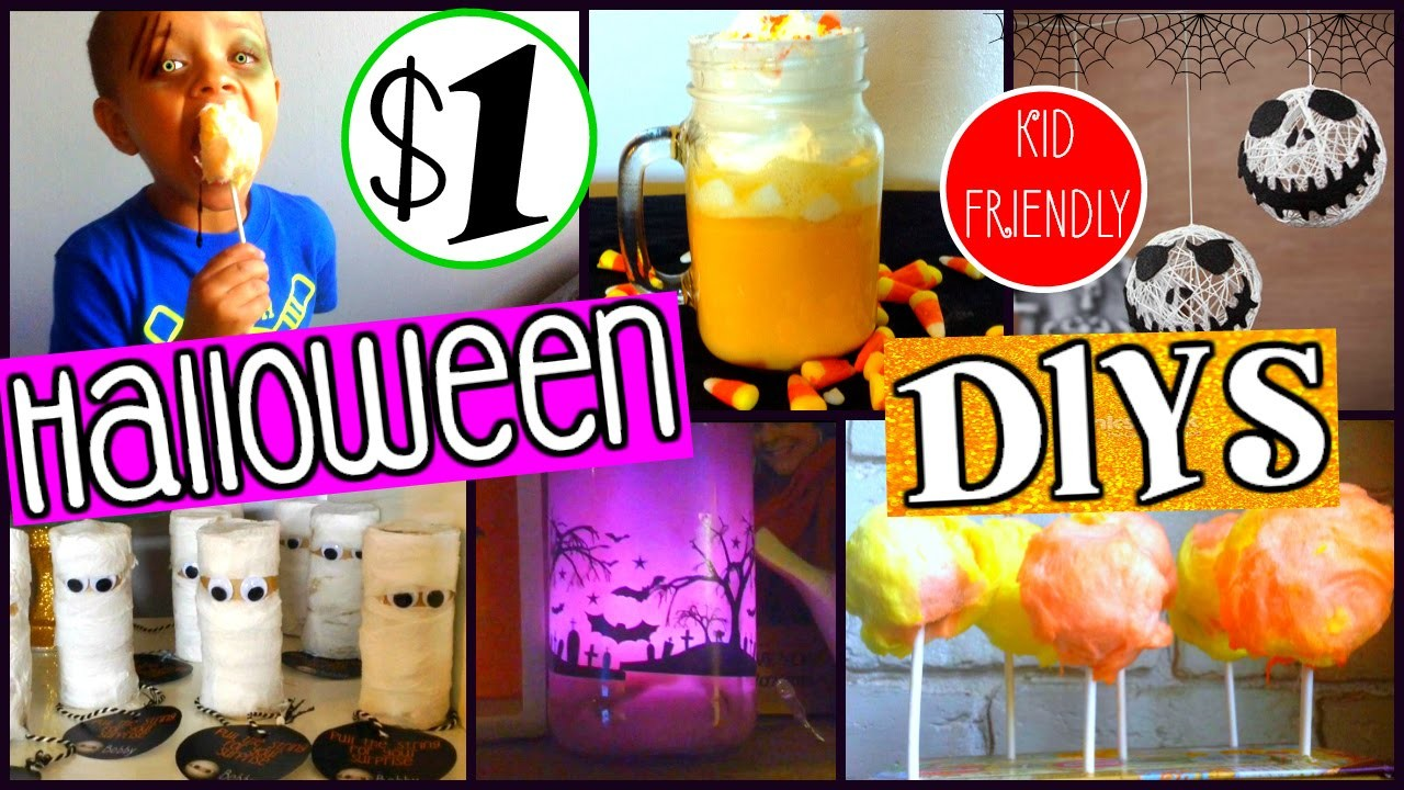 5 PINTEREST INSPIRED HALLOWEEN DIY'S | EVERYTHING FROM THE DOLLAR TREE | SENSATIONAL FINDS