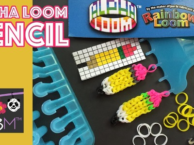 Alpha Loom from Rainbow Loom | Pencil Charm