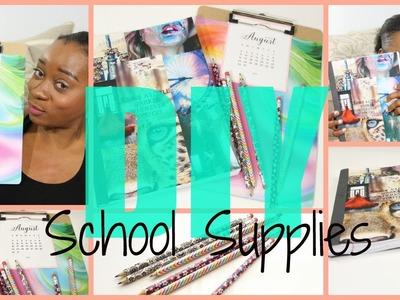 Back to School 2015   DIY School Supplies