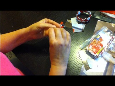 Candy Wrapper Purse Tutorial P1.