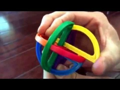 Chuck E Cheese puzzle ball. How to take apart and put back together. One piece is the key!