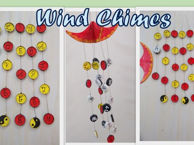 DIY 2015: wind chimes from soda bottle caps: (Redefine Craft)