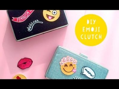 DIY Emoji Clutch Bag