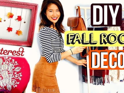 DIY Fall Room Decor Projects + Clothing Rack | Pinterest Inspired