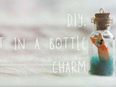 DIY. Pet in a Bottle Charm