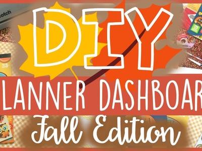 DIY Planner Dashboard ❤️ Fall Edition