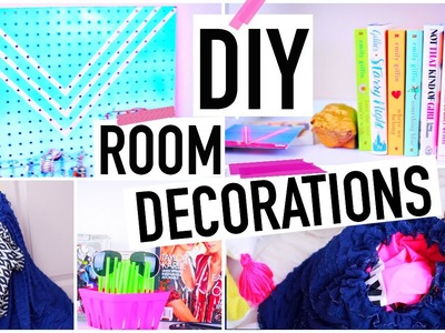 DIYs to Get Organized for Spring! DIY Room Decor for Jewelry +More!
