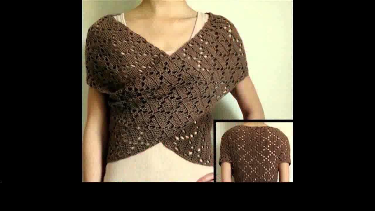 Easy crochet shirt project