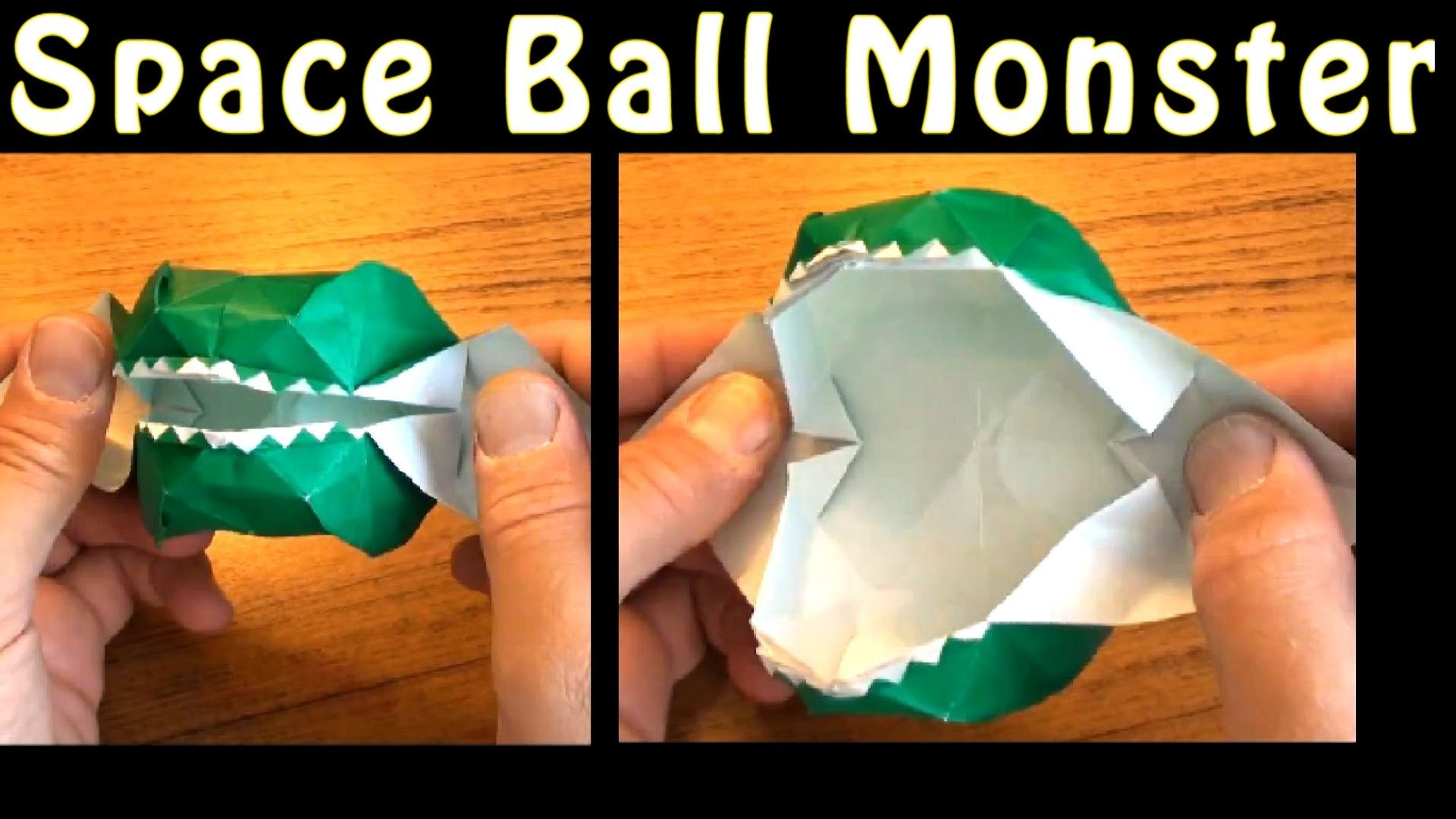 Fold a Space Ball Monster by Jeremy Shafer