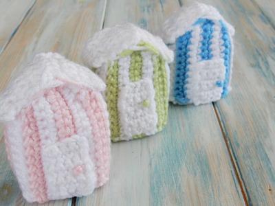How To Crochet a Beach Hut