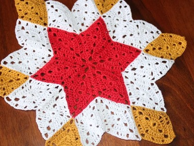 How To Crochet A Star Shaped Doily - DIY Crafts Tutorial - Guidecentral