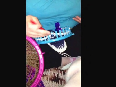 How to loom a dog sweater part two of two