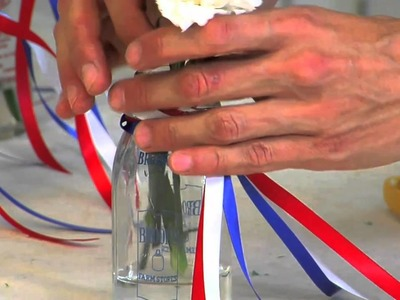 How to Make 4th of July Party Favors Using Carnation Flowers | Pottery Barn