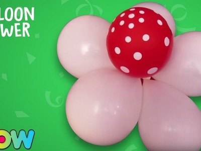 How To Make A Balloons Cluster | Balloon Cluster Ideas | WOW Juniors